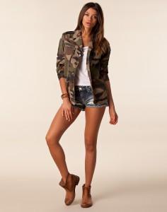 Veste Camouflage Mode Femme