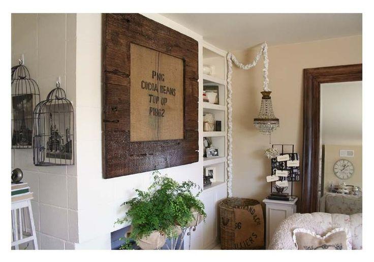 toile de jute sac a caf recycl. Black Bedroom Furniture Sets. Home Design Ideas